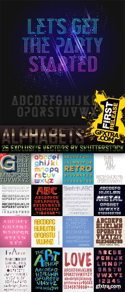 Amazing SS - Alphabets, 25xEPS