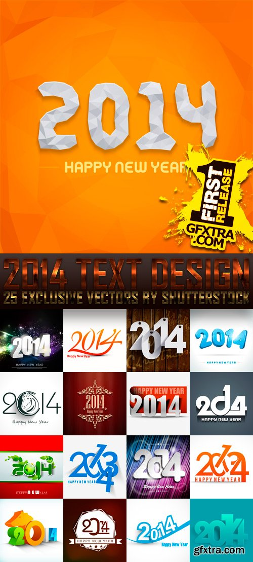 Amazing SS - 2014 Text Design (vol.4), 25xEPS