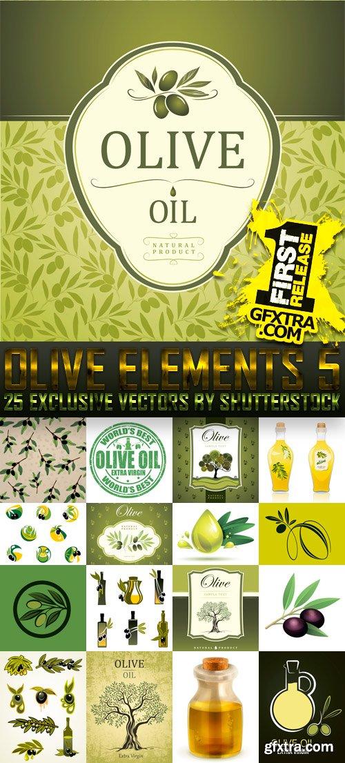 Amazing SS - Olive Elements 5, 25xEPS