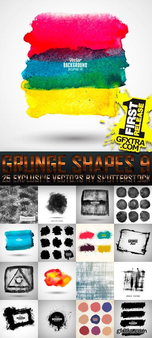 Amazing SS - Grunge Shapes 9, 25xEPS