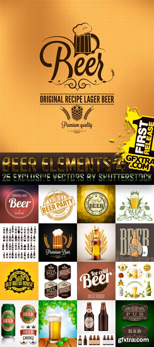 Amazing SS - Beer Elements 4, 25xEPS