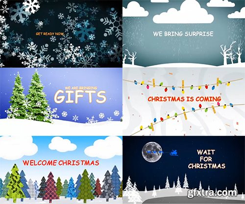 GFXTRA Merry Christmas After Effects Pack 2
