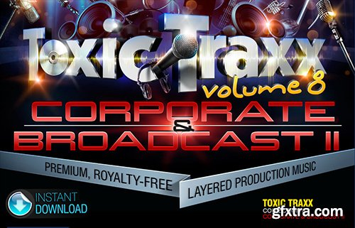 Digital Juice Toxic Traxx 8: Corporate and Broadcast II (Layered Production Music Library)