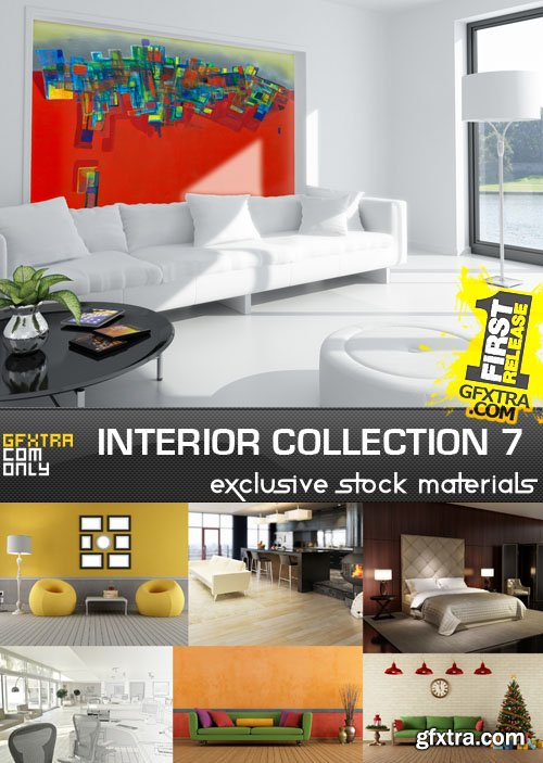 Collection of interiors vol. 7, 25xUHQ JPEG