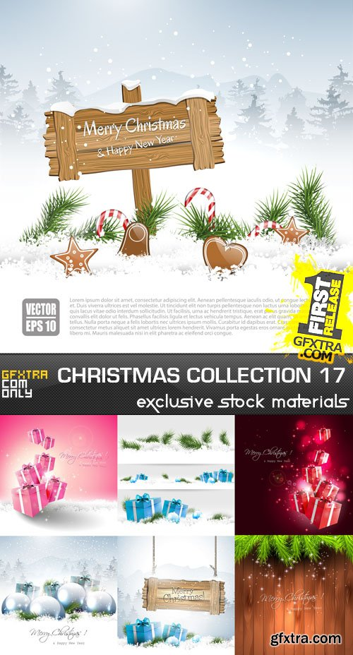 Christmas Collection 17, 25xEPS