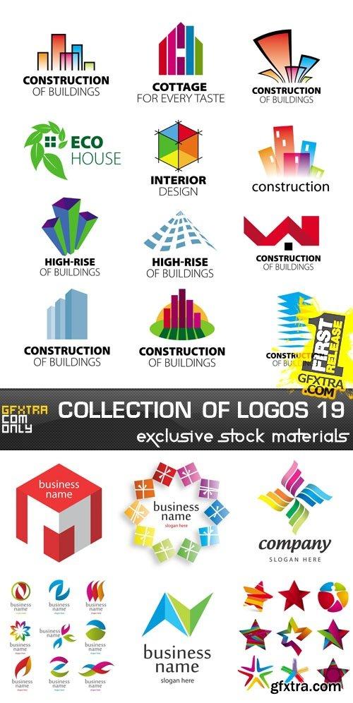 Collection of Logos vol.19, 25xEPS, AI