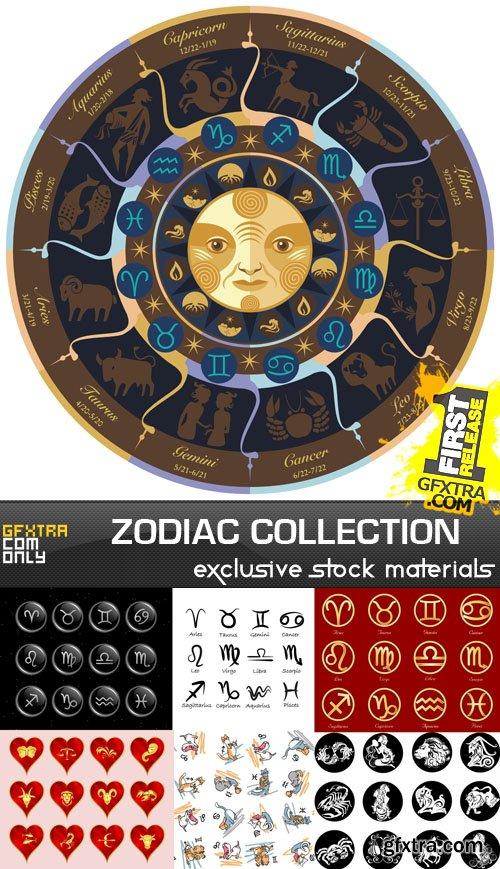 Zodiac Collection, 25xEPS, AI