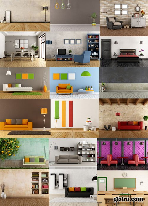 Collection of interiors vol. 9, 25xUHQ JPEG