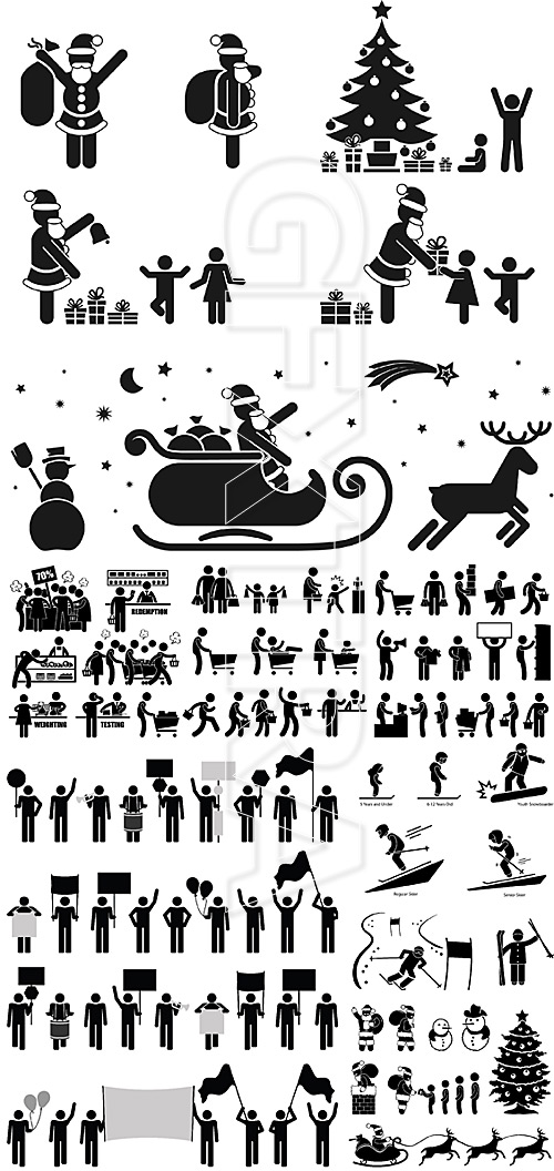 People pictograms 8