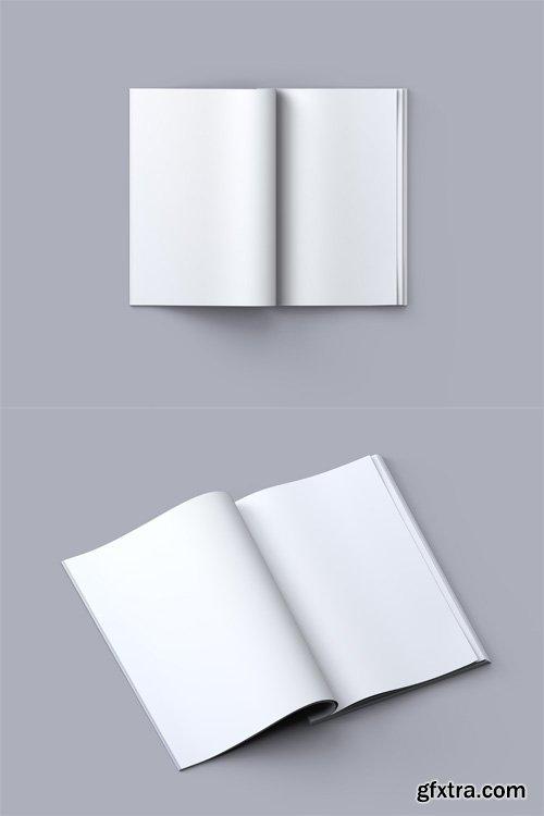 2 Book Mock-up Templates