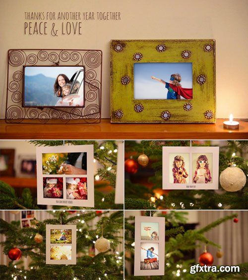 Videohive - Christmas Photo Gallery 6400125