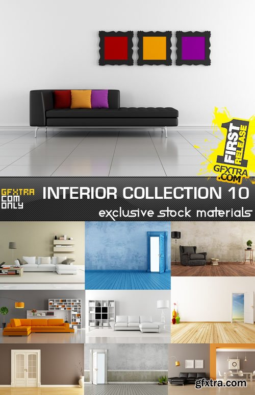 Collection of interiors vol. 10, 25xUHQ JPEG