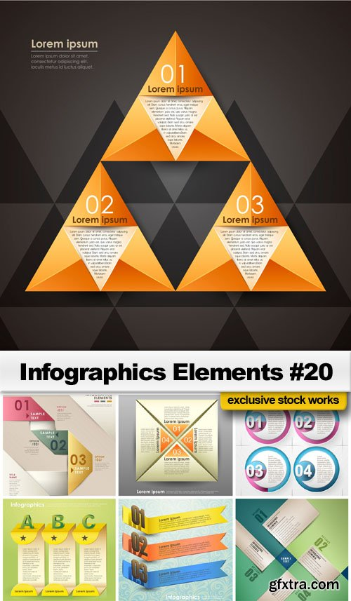 Infographics Elements #20 - 25 EPS
