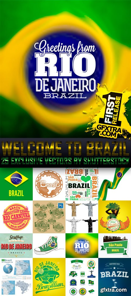 Amazing SS - Welcome to Brazil, 25xEPS