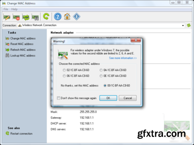 LizardSystems Change MAC Address 3.7.0.153 Multilingual
