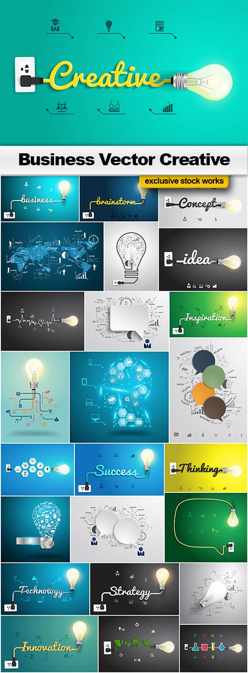 Business Vector Creative - 25x EPS