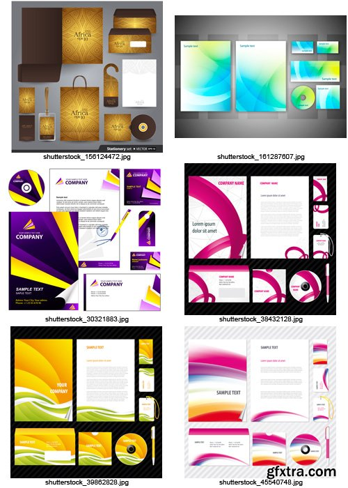 Amazing SS - Corporate Identity 5, 25xEPS