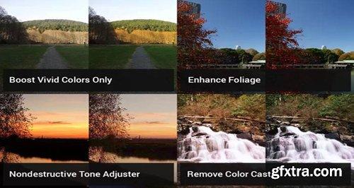 6 Landscape Retouching Actions