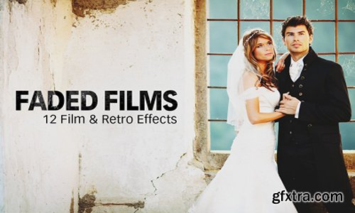 12 Film, Instagram, and Prestalgia Faded Film Photoshop Actions