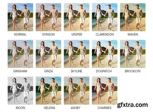 Instagram Video Photoshop Actions (Stinson, Vesper, etc)