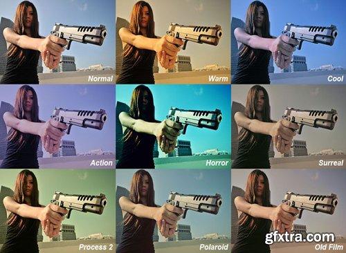 8 Cinematic FX Photoshop Actions
