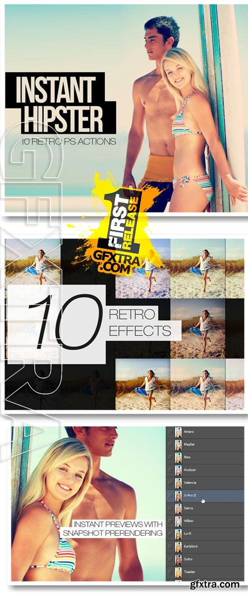 10 Instagram Photoshop Actions