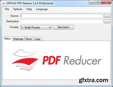 PDF Compressor Portable 2.7 - Free Lossless Compress PDF Files