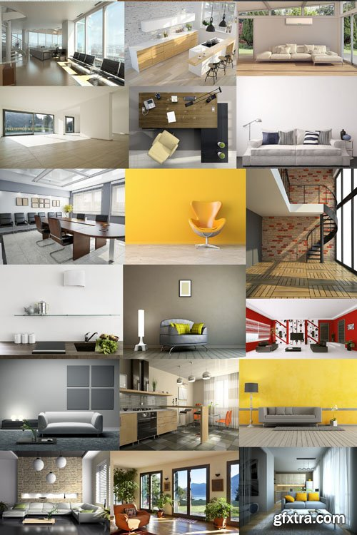 Collection of interiors vol. 11, 25xUHQ JPEG