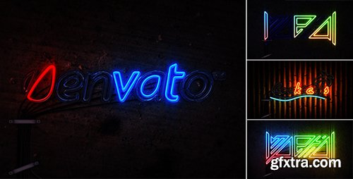 Videohive Neon Light 5249001 (Music included)