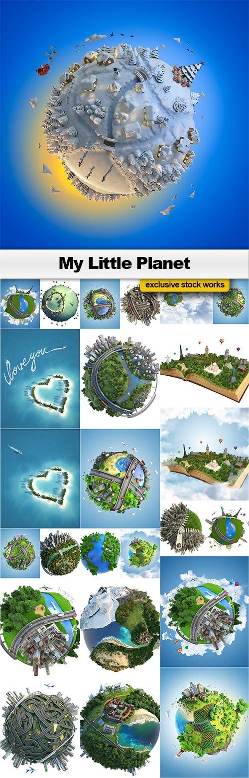 My Little Planet - 25x JPEGs