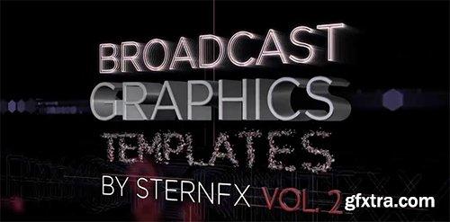 Broadcast Graphics Templates Vol. 2