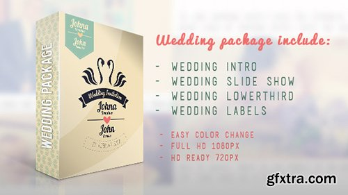Videohive Wedding Package 5999693