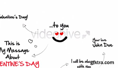 Videohive Sketch Valentines Day 3831259