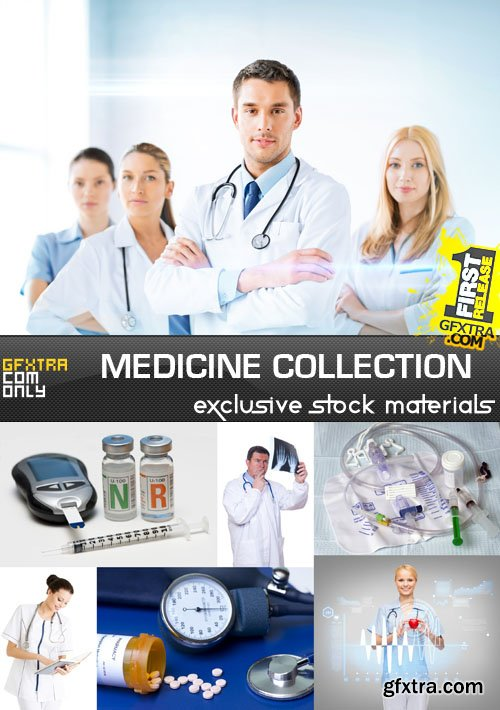 Medicine Collection, 25xUHQ JPEG