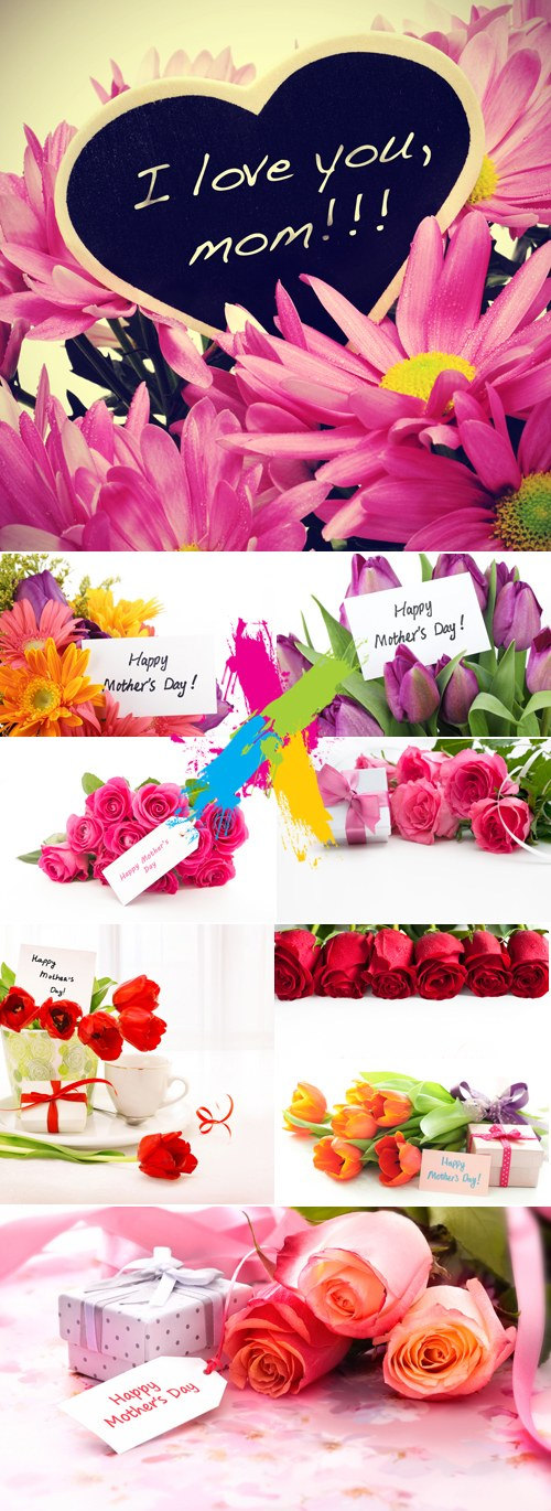 Stock Photo - Mother's Day Backgrounds