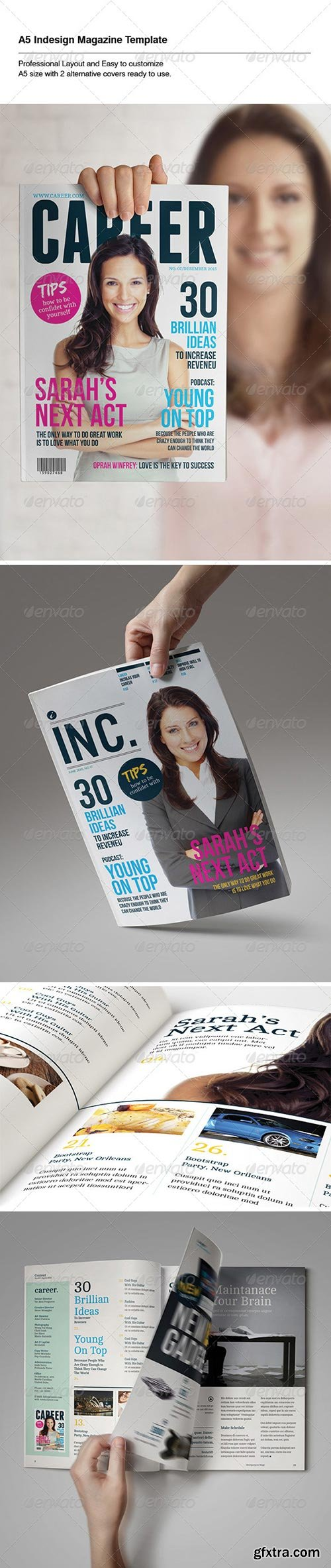 GraphicRiver - Indesign Magazine Template