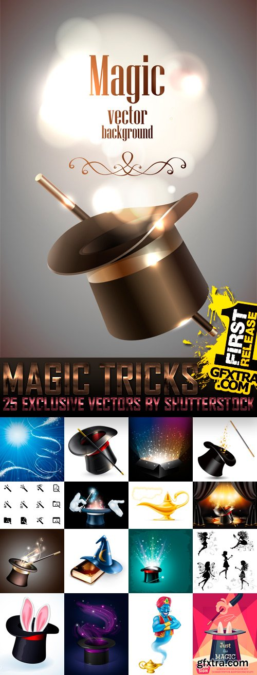 Amazing SS - Magic Tricks, 25xEPS