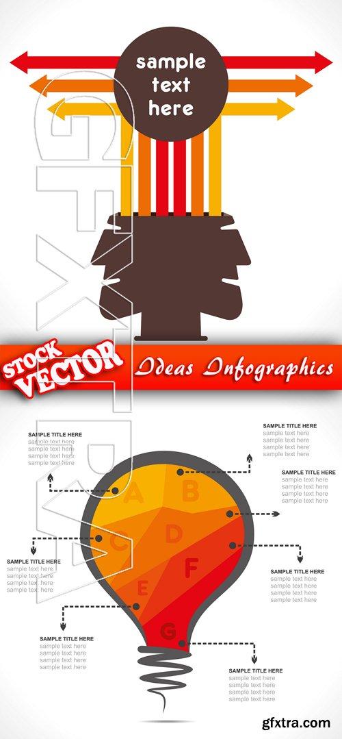 Stock Vector - Ideas Infographics