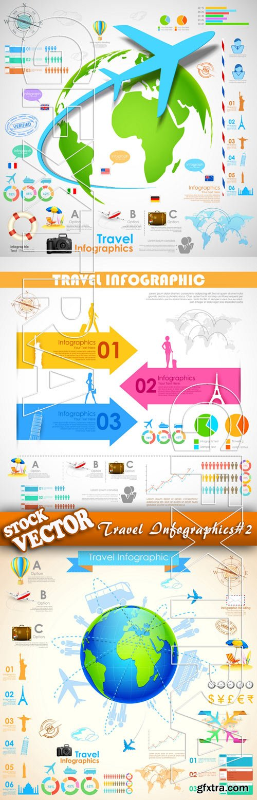 Stock Vector - Travel Infographics#2