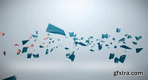 Shattered Logo - After Effects Project