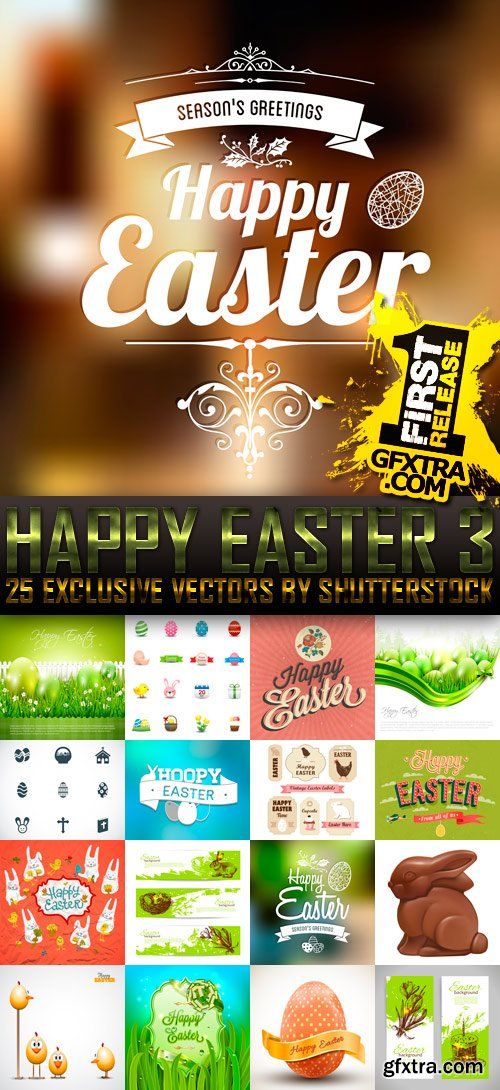 Amazing SS - Happy Easter 3, 25xEPS