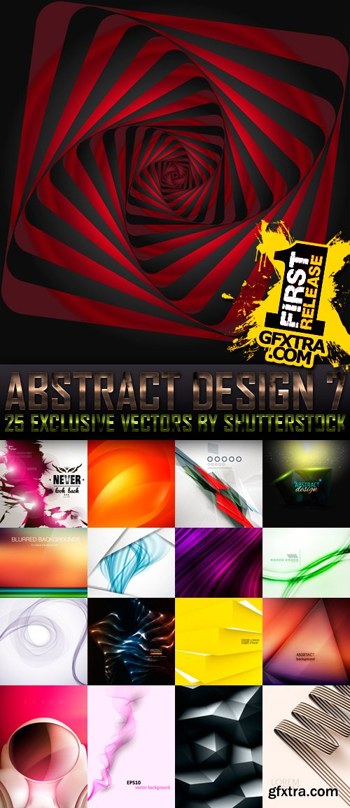Amazing SS - Abstract Design 7, 25xEPS