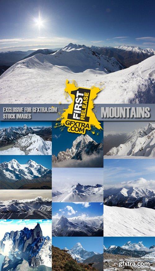Mountains, 25xJpg