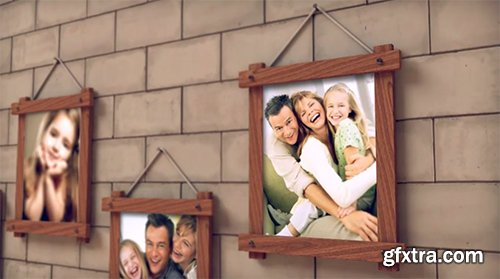 VideoHive Fireplace Warm Photo Memories 5875425