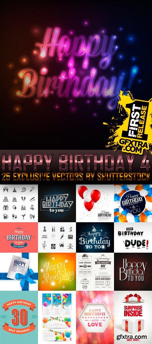 Amazing SS - Happy Birthday 4, 25xEPS