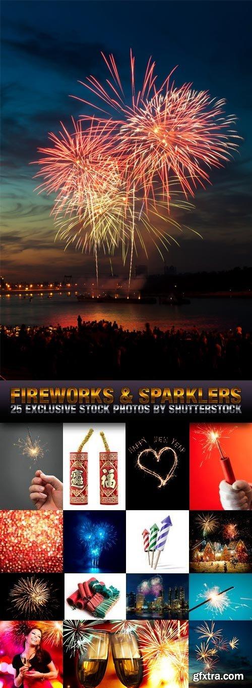 Fireworks & Sparklers 25xJPG