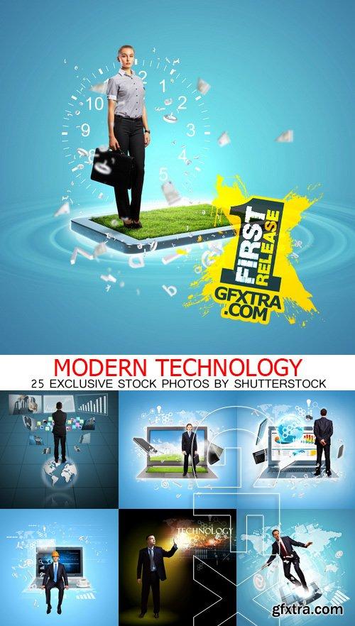Amazing SS - Modern technology, 25xJPGs