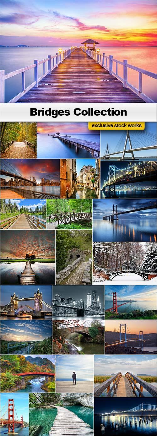The Bridges - 25x JPEGs
