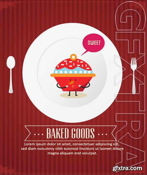 Vectorious Food and Drinks Vector Collection 2