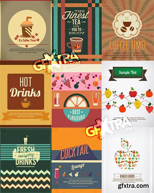 Vectorious Food and Drinks Vector Collection 3